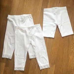 Set of 2 Capri & 1 bike shorts - 5/6